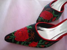 Fashionable kasut manek