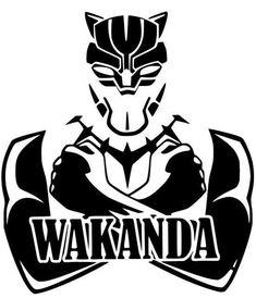 Wakanda Black Panther Marvel The Avengers Unendlichkeit Auto . Black Panther Marvel, Black Panther Art, Black Art, Black Panthers, Marvel Art, Marvel Avengers, Logo Marvel, Avengers Shirt, Panther Logo