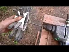 DIY Drill attachment - Chicken pluker in action (2 ...