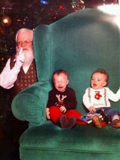 Mean ol Santa