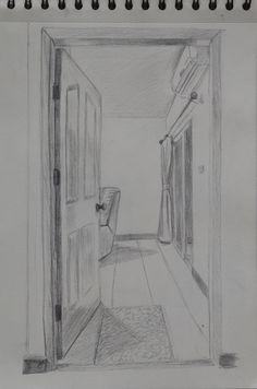 open door drawing perspective. Afbeeldingsresultaat Voor Door Perspective Open Drawing E