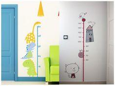 Vinilos decorativos: medidor #habitaciones #infantiles