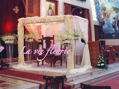 Red carpet church entrance wedding decoration weddings egypt seater church holy ceremony flowers tent wedding junglespirit Images