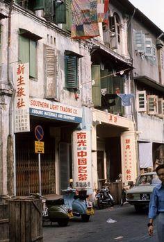 Singapore - China Town 60ties