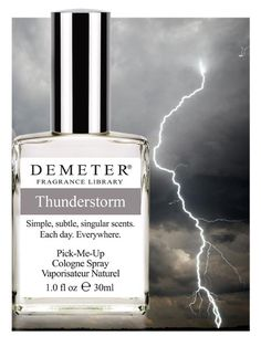 Demeter® Fragrance Library Watery Notes: I'm curious about trying to mix these, and they're affordable enough to have fun with. Water notes I'd like to try are Thunderstorm and Salt Air in particular.
