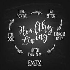 It is the circle of healthy living!  Don't forget to your daily dose of health inspo here: www.FMTV.com  #inspo  #FMTV #FoodMatters #FMTVOfficial #healthylifestyle #lifechanging #mindandbody #meditation #organic #healthyfood