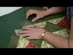 Tia Lili Patchwork: toalha natalina para colocar em baixo da sua árvore de Natal - YouTube