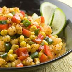 Southwestern Calico Corn  Quick and Healthy Side Dish Recipes | Eating Well