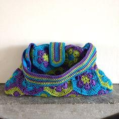 Crochet. Summer Bag - Tutorial