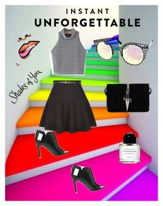 """""""Shades of You: Sunglass Hut Contest Entry"""" by diceyjane on Polyvore featuring Quay, New Look, Alepel, Cesare Paciotti and shadesofyou"""