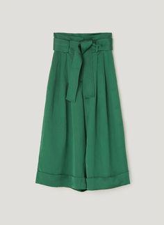 Culotte maxi lazada - Ver todo - Pantalones - Colección - Uterqüe España