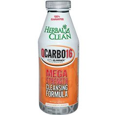 10 Pack  Herbal Clean Detox Qcarbo16 Orange Flavor 16 Fl Oz with Free Im Baked Bro and Doob Tubes Sticker ** Click image for more details.