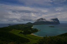 Lord Howe Island -  from Kim's lookout across to Mt Gower and Mt Lidgbird