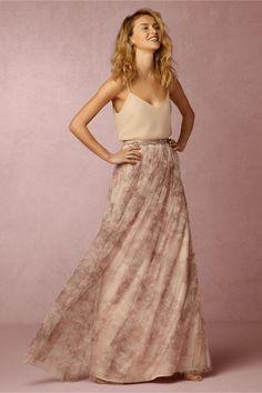 BHLDN Louise Tulle Skirt in  Bridesmaids at BHLDN