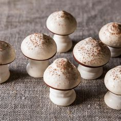 Meringue Mushrooms Recipe on Food52 recipe on Food52