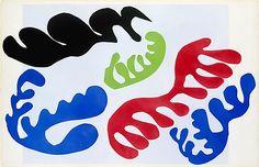 Jazz series - La Goa - Henri Matisse - 1947 - cut outs