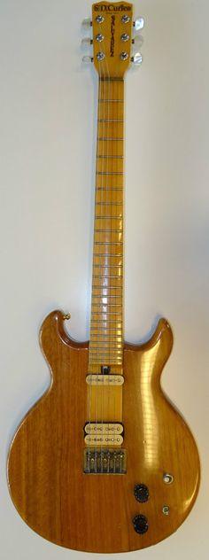70er Jahre Vintage E-Gitarre Bass S.D. Curlee Salvarez HD700N Japan