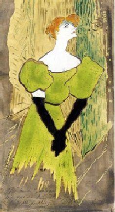 Yvette Guilbert (1895) Toulouse-Lautrec