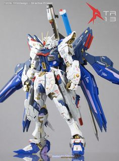 Custom Build: MG 1/100 Strike Freedom Gundam [Strike Falken] - Gundam Kits Collection News and Reviews