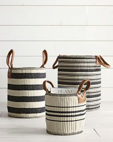 Whatever elements you pick from the basket of Scandinavian decor & design, they are likely to mix easily with Home Decor Baskets, Basket Decoration, Diy Home Decor, Decor Room, Rope Basket, Basket Weaving, Plant Basket, Cute Bedroom Ideas, Storage Baskets