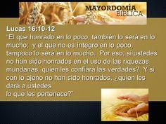 Lectio divina del 8 de Noviembre de 2014  Lucas 16,9-15