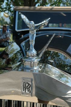 1933 Rolls Royce hood ornament