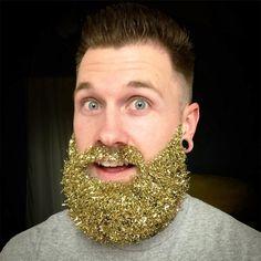 Latest Weird Instagram Trend: Glitter Beards