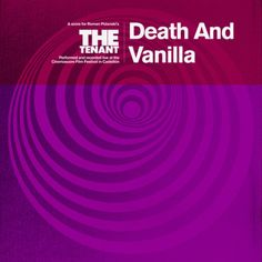 Death and Vanilla : The Tenant / Fire Records / Alternative/Indie Rock - In 2015 the Swedish band recorded a truly haunted original score for a live screening of the 1976 film The Tenant. - Tim Sendra #music #concert #schedule
