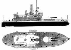 U.S. Monitor Arkansas Naval History, Confederate Flag, Big Guns, Navy Ships, Rc Model, Submarines, Model Ships, Battleship, Warfare