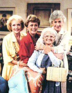 """ The Golden Girls"" ~ starring Beatrice Arthur, Betty White, Rue McClanahan, Estelle Getty"