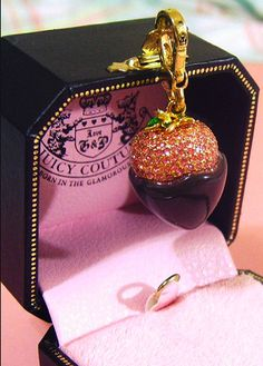 juicy couture, charm, and pink image