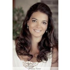 Hair style for brides, bridal hair style, pelo suelto, novia, boda, fotografos Canarias.