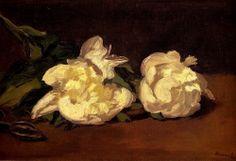 """Ramillete de Peonias y tijeras de podar"" de Edouard Manet"