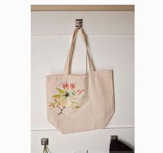 DIY Tote Bag with heat transfer paper