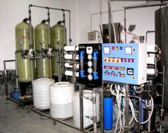 A reverse osmosis plant is a manufacturing plant where the process of reverse osmosis takes place.