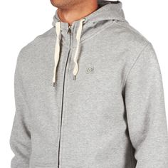 DC Keystone Hoody - Heather Grey | Free UK Delivery on All Orders