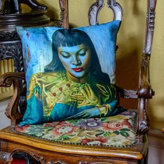 We love Tretchikoff! Tretchikoff Lady from Orient Cushion £69 each