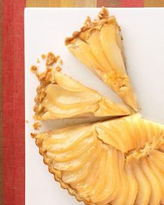 Pear and Almond-Cream Tart - Martha Stewart Recipes