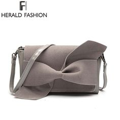 Herald Fashion 2017 Brand Women Shoulder Bag High Quality PU Leather Day Clutches Bow Tote Hobo Crossbody Bags For Ladies pouch Hobo Crossbody Bag, Fashion 2017, Women's Bags, Pu Leather, Clutches, Pouch, Bows, Shoulder Bag, Free Shipping