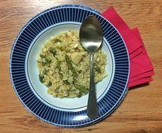 Receita de risoto de palmito com aspargos