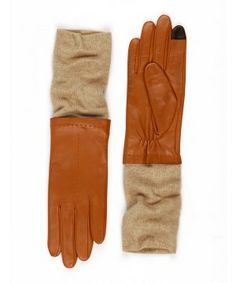 One pair you will not want to leave at home, particularly after the big chill sets in: echo touch leather/knit glove by @EchoDesignGroup