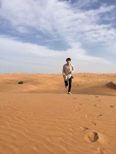 B T S *  Summer Package in Dubai * Jin #bts_twt  #Bangtan #Boys #방탄소넌단 #BigHitEnt #2016 | @kaylaaaq