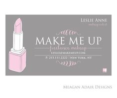 Makeup Artist Business/Appointment Card 10$ CAN | Donut Design ...