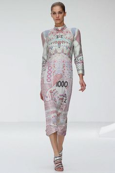 Mary Katrantzou S13 - M. K cannot put a foot wrong. That girl is a genius.