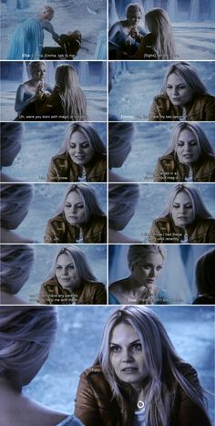 """ Parents don't always help."" - Elsa and Emma - 4 * 2 ""White Out"" #FrozenSwan 
