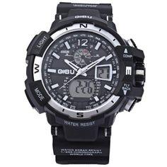 GOBU 1539 Male Dual Movt Sports Watch