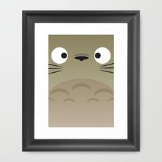 totoro Totoro, Miyazaki Tattoo, Ghibli Movies, Hayao Miyazaki, Studio Ghibli, Framed Art Prints, Creations, Room Ideas, Animation