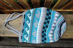 Taschen Crochetalong von www.schoenstricken.de - wunderbare, weil sehr ausführliche und gut bebilderte Anleitung zum Häkeln der Tasche
