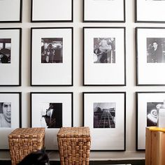 Photo Walls, Contemporary, living room, Samantha Pynn