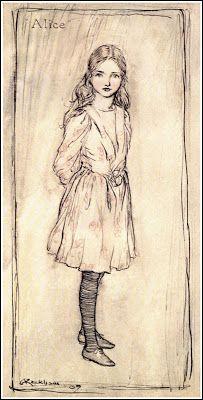 Alice by Arthur Rackham ( 1867 - 1939 )